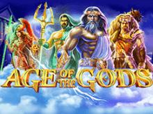 Играть в мобильный слот Age Of The Gods онлайн